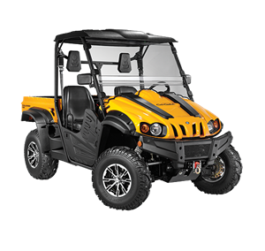 4x4 471cc | Liquid | 23HP EFI | Yellow Body