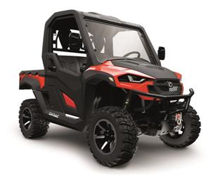 4x4 546cc | Liquid | 27.5 HP EFI | Red Body