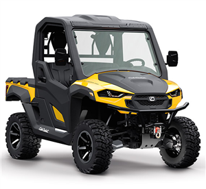 4x4 546cc | Liquid | 27.5 HP EFI | Yellow Body