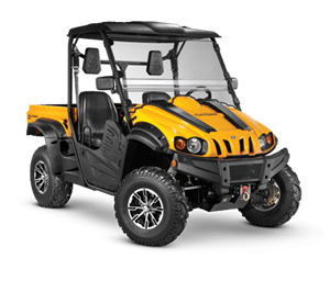 4x4 686cc | Liquid | 35HP EFI | Yellow Body