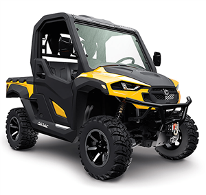 4x4 735cc | Liquid | 35.8 HP EFI | Yellow Body | Power Steering