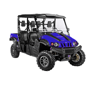 4x4 686cc | Liquid | 35HP EFI | Blue Body I Power Steering