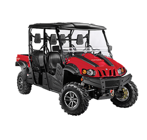 4x4 686cc | Liquid | 35HP EFI | Red Body I Power Steering