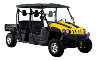 4x4 686cc | Liquid | 35HP EFI | Yellow Body I Power Steering